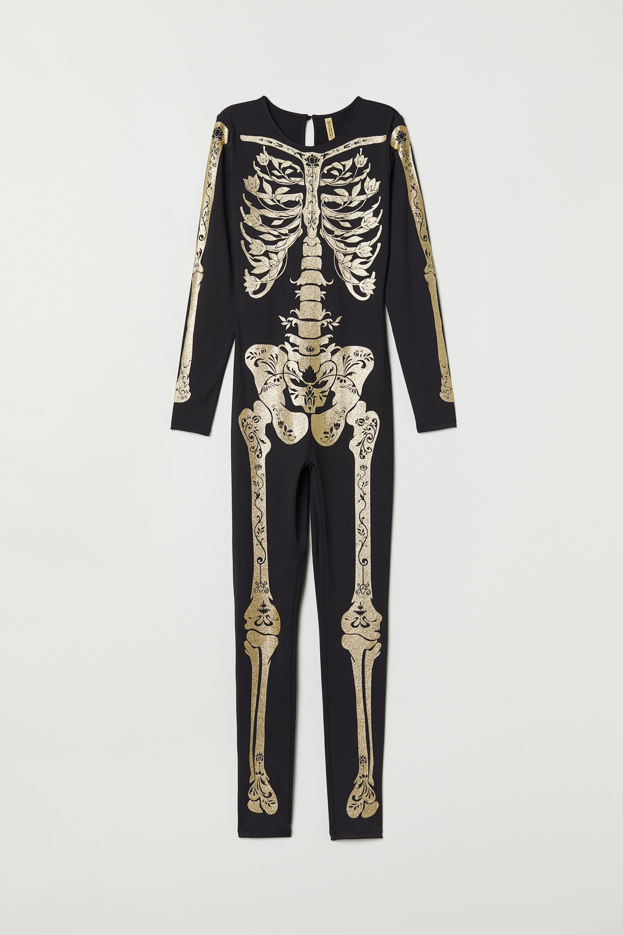 Black Skeleton Costume