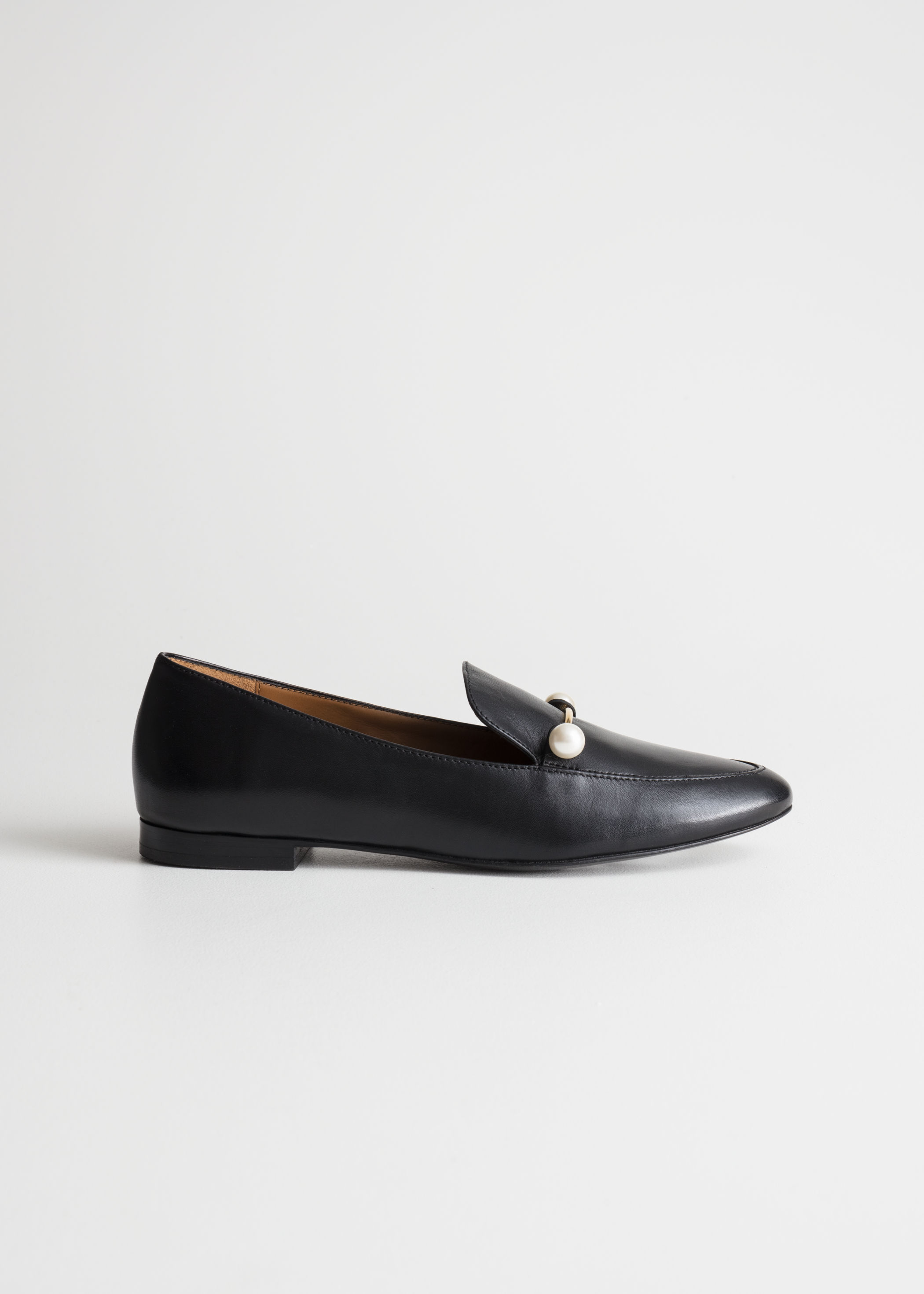 Classic Chic Leather Loafers