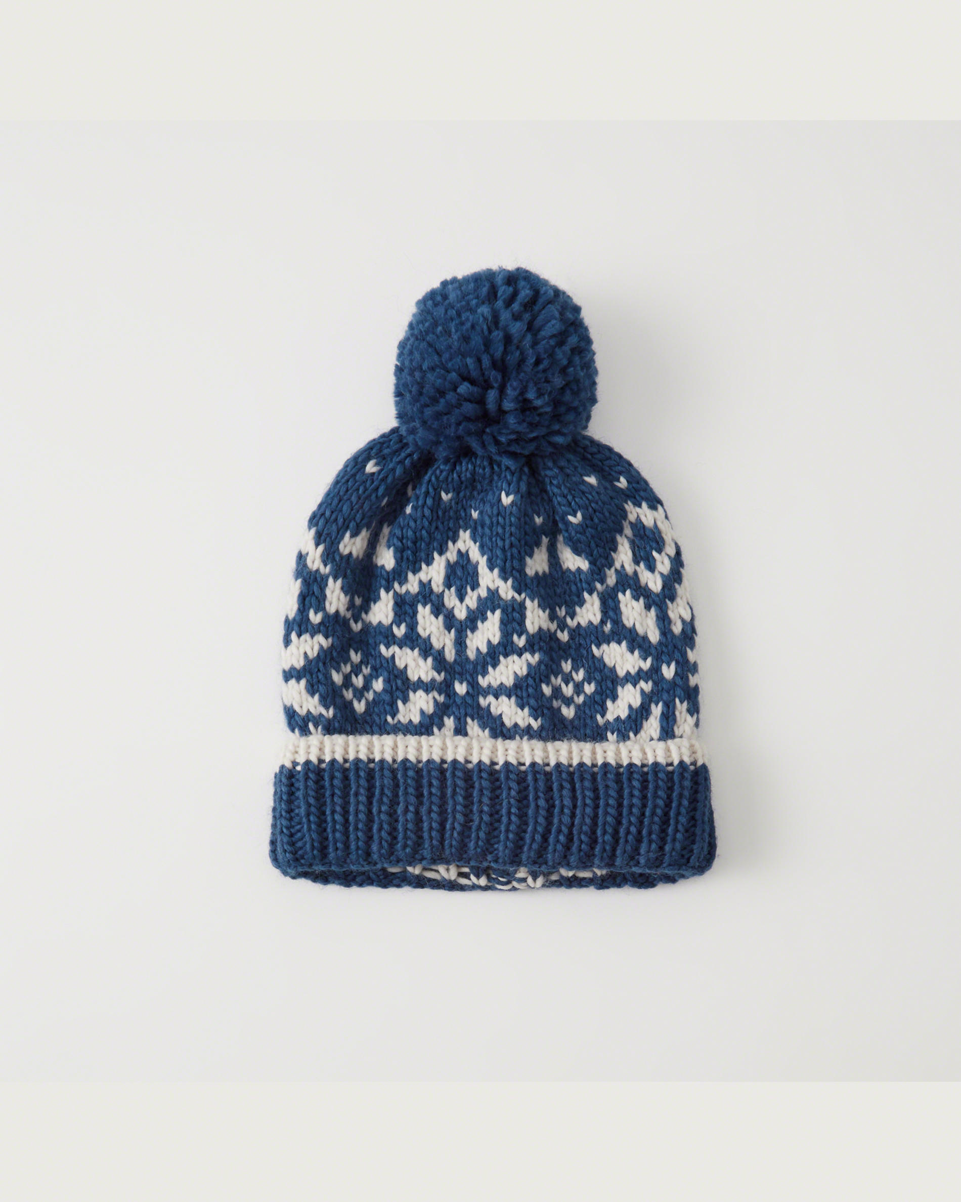 Knit Pom Winter Hat