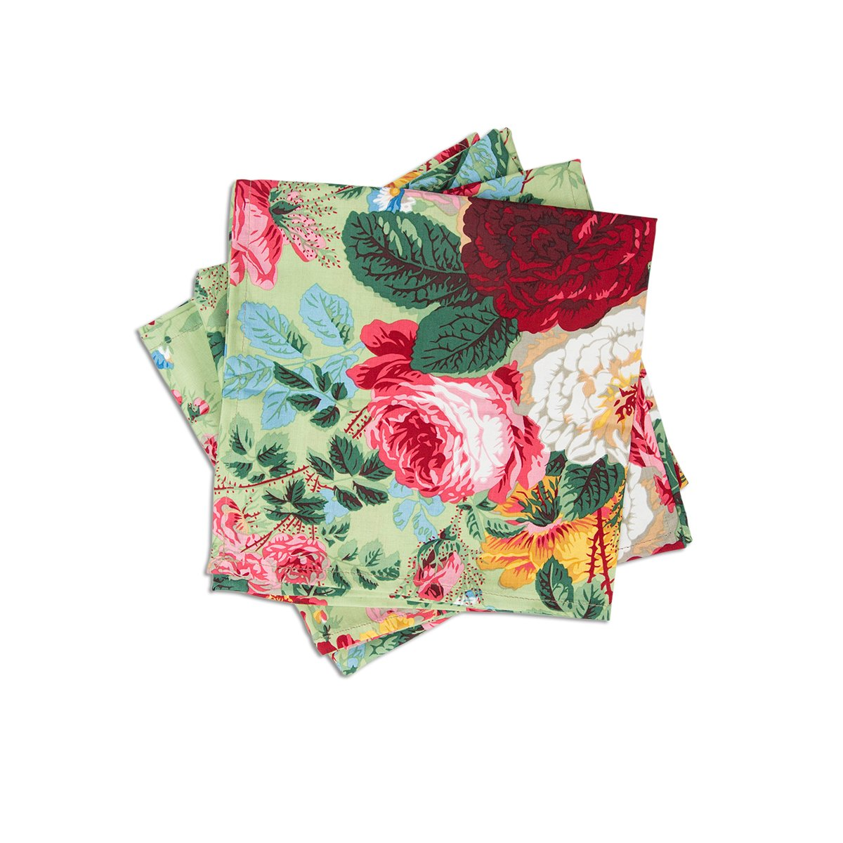 Winter Greenbrier Floral Napkins