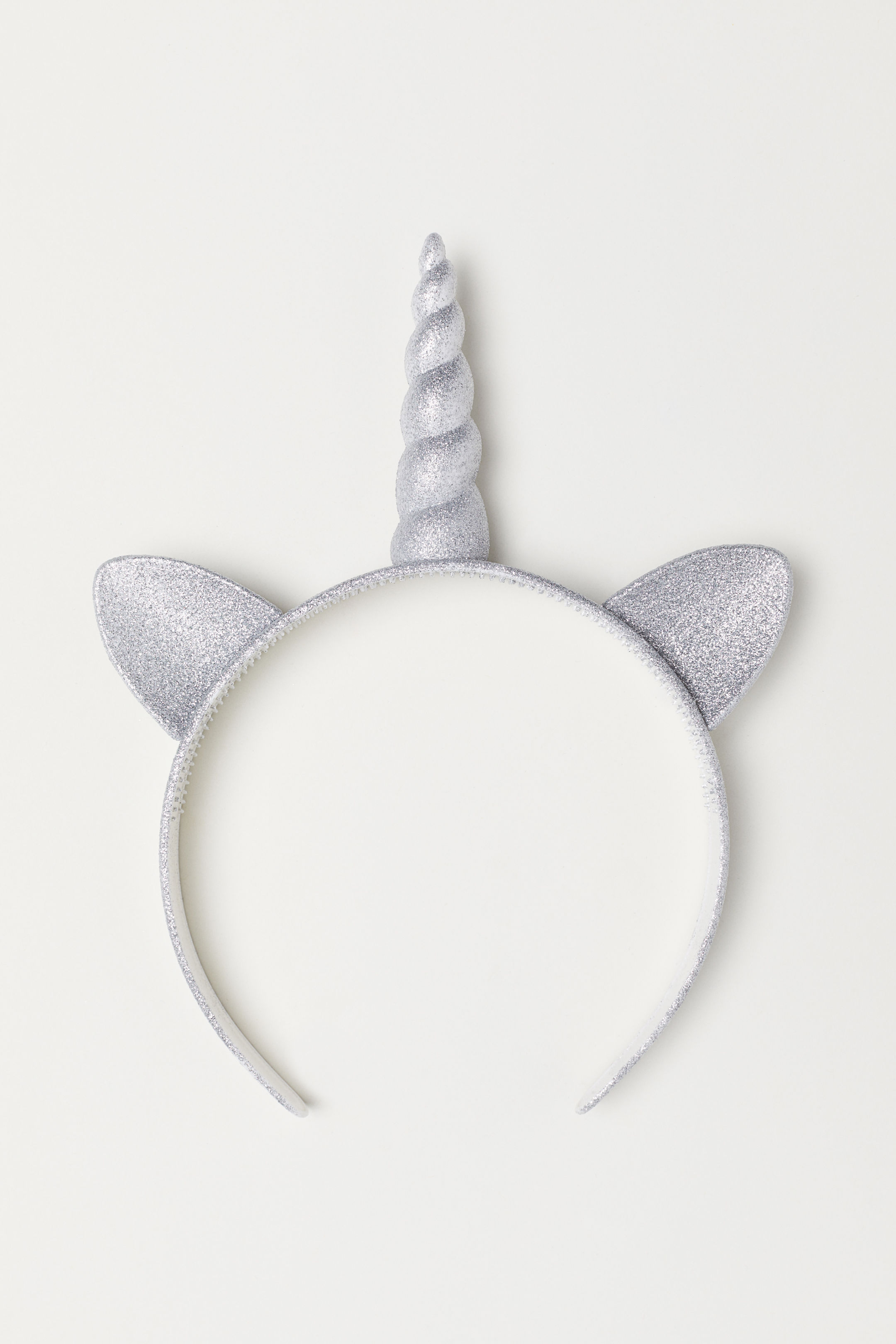 Silver Unicorn Headband