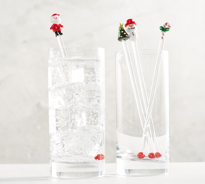 Holiday Cocktail Stirrers
