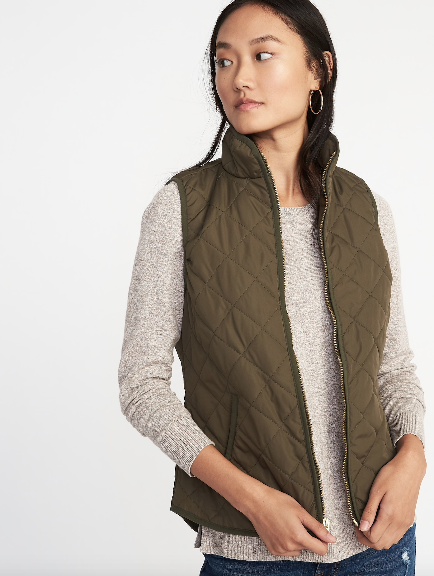 Lightweight Quilted Vest
