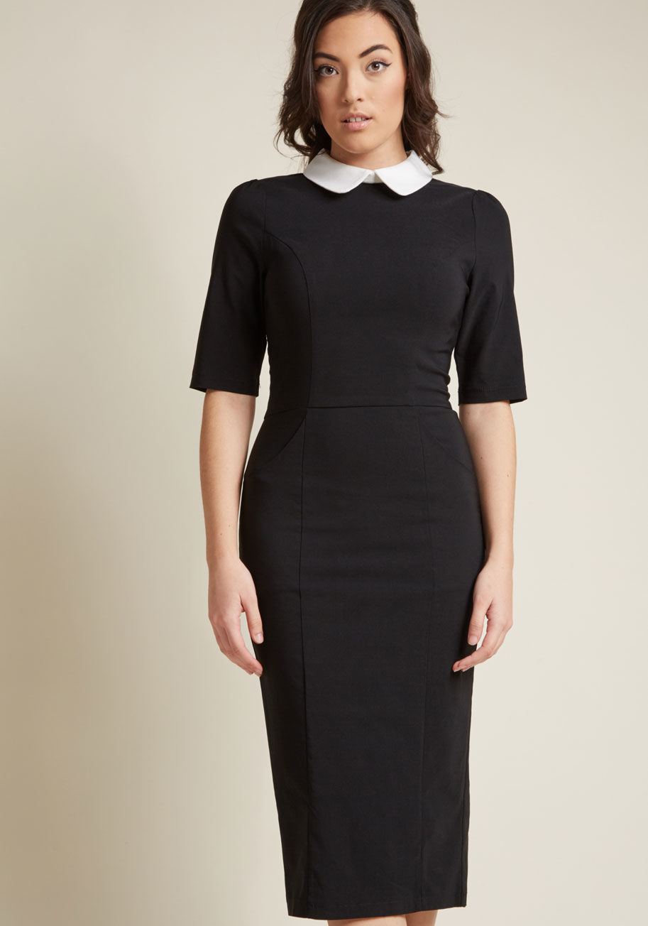 Black Sheath Dress