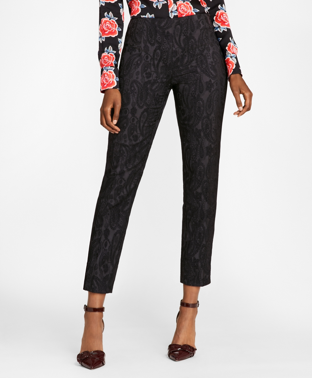 Paisley Ankle Pants