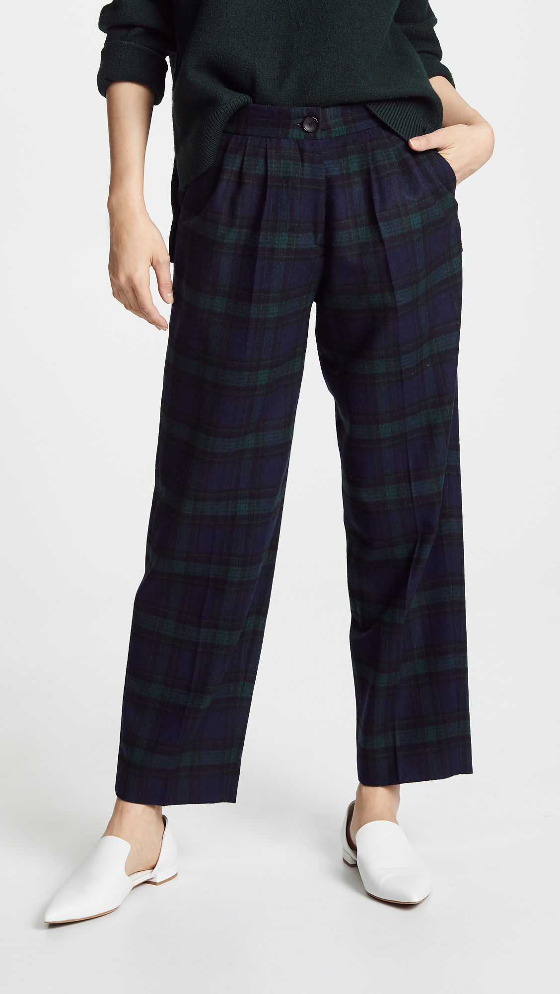 Plaid Gaucho Trousers