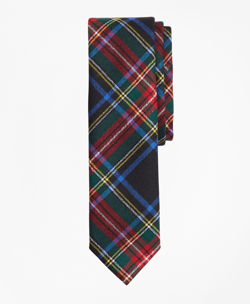 Plaid Wool Tie