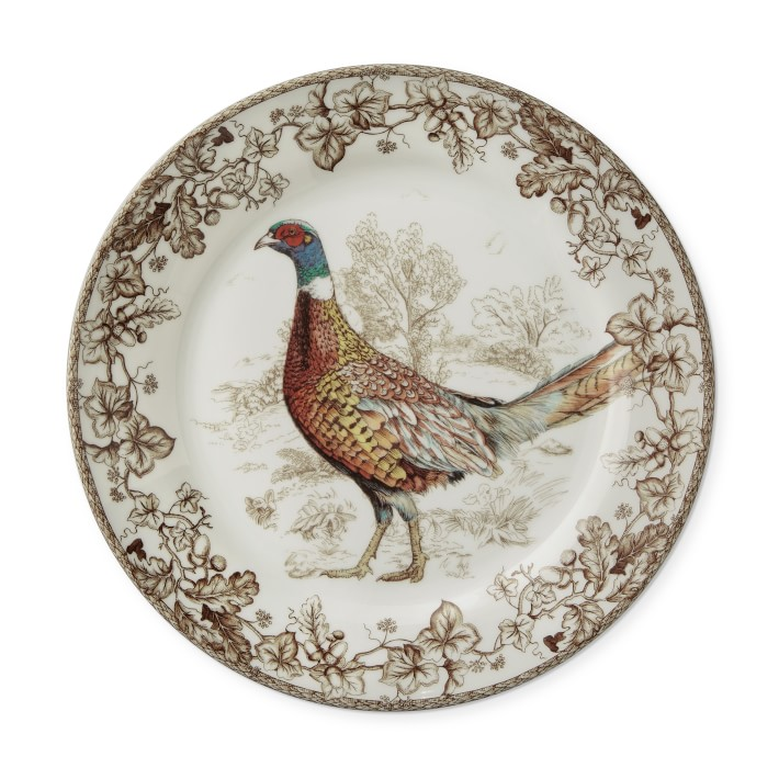 Plymouth Birds Dinner Plates