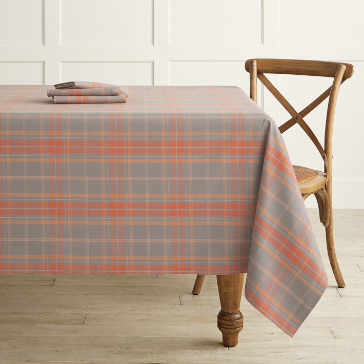 Plymouth Plaid Tablecloth