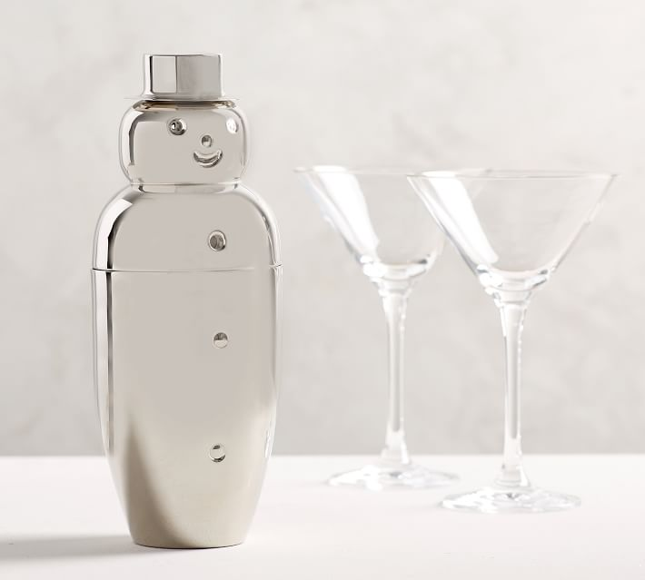 Snowman Cocktail Shaker