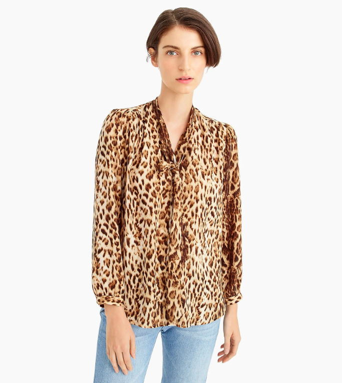 The Daily Hunt: Leopard Print Blouse and more!