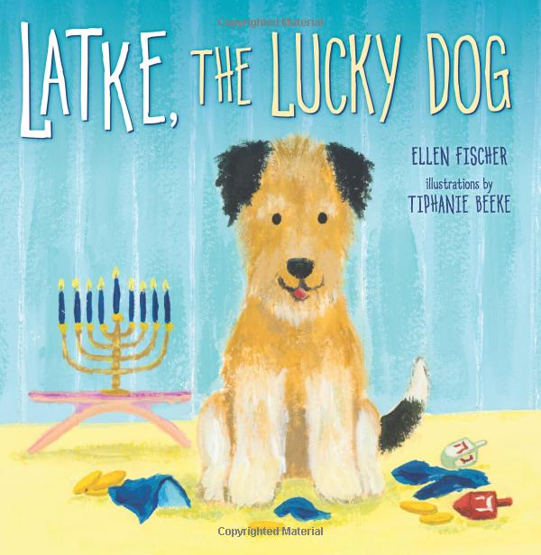 Latke the Lucky Dog