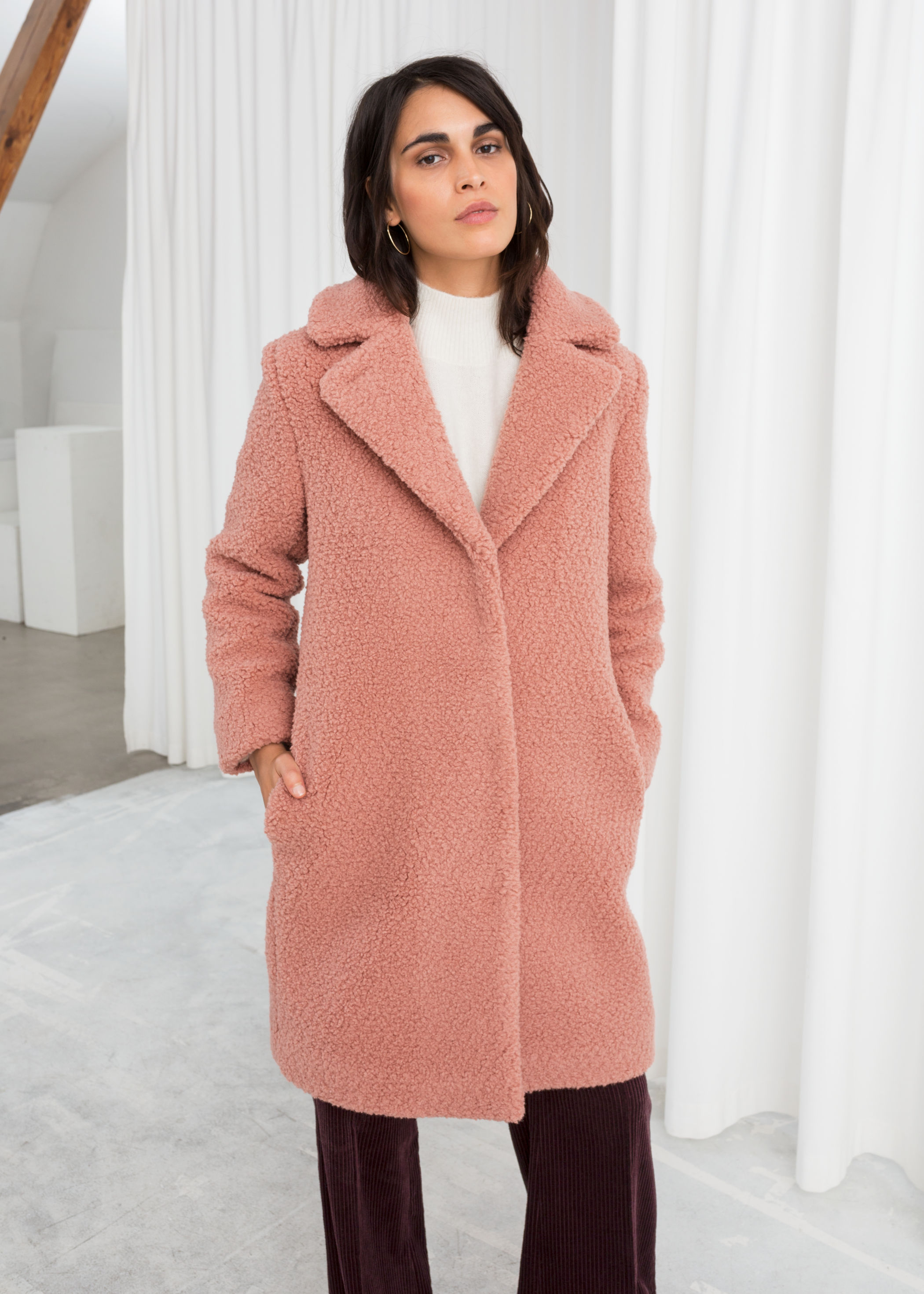cb7fe234 and-other-stories-faux-shearling-teddy-coat-katie-considers-blog ...