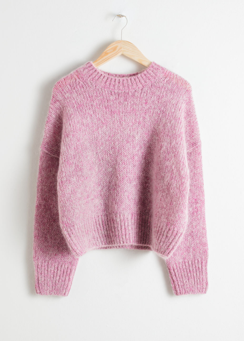 Boxy Wool Sweater