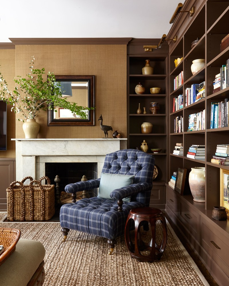 A Charming Brooklyn Heights Brownstone Decorated By