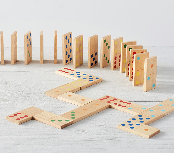 Dominoes Family Game Set