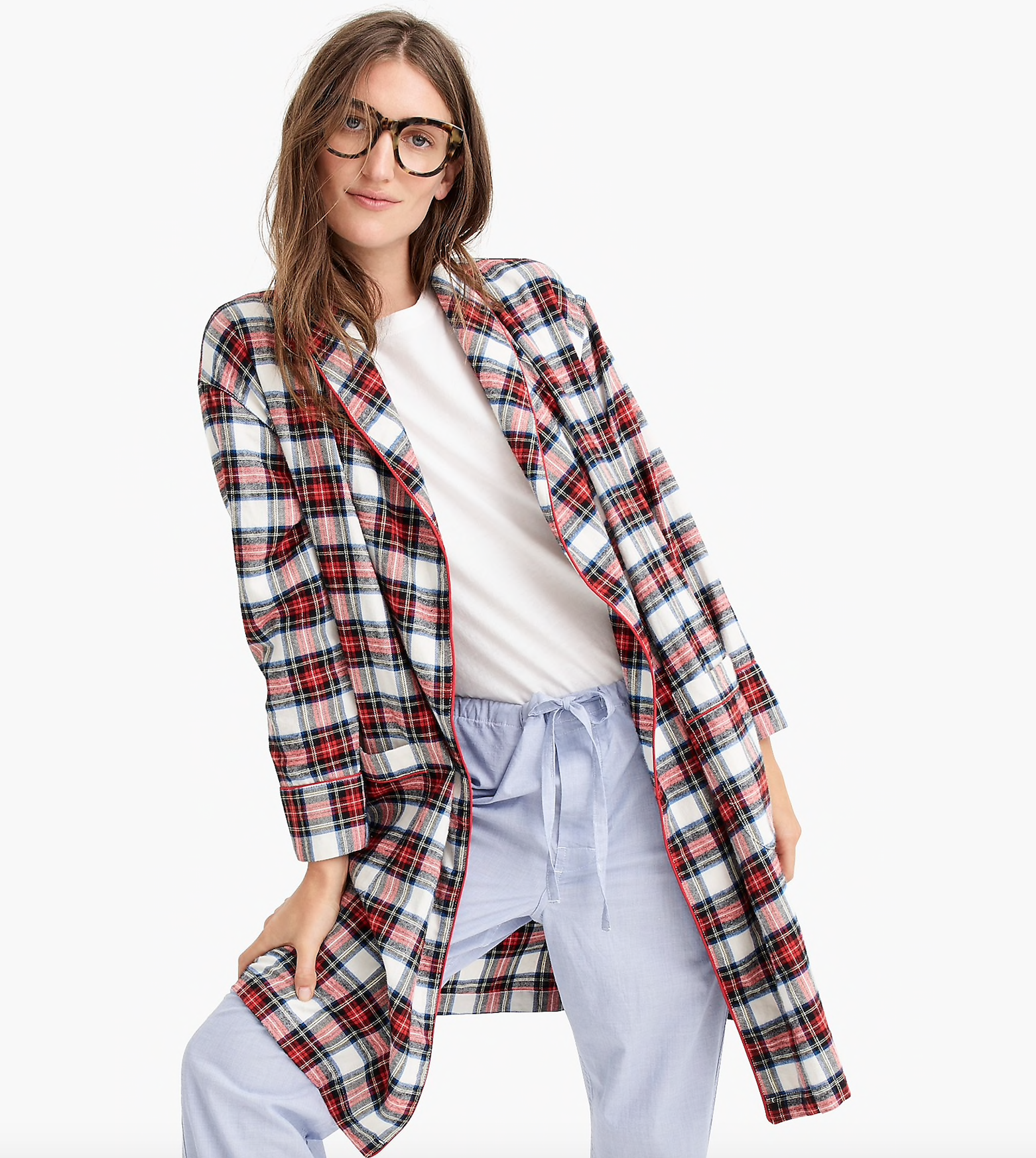 Festive Flannel Robe