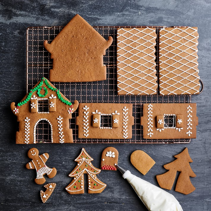 Gingerbread House Cookie Making Kit Mold