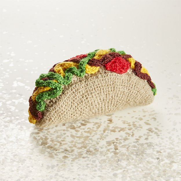 Taco Dog Chew Toy