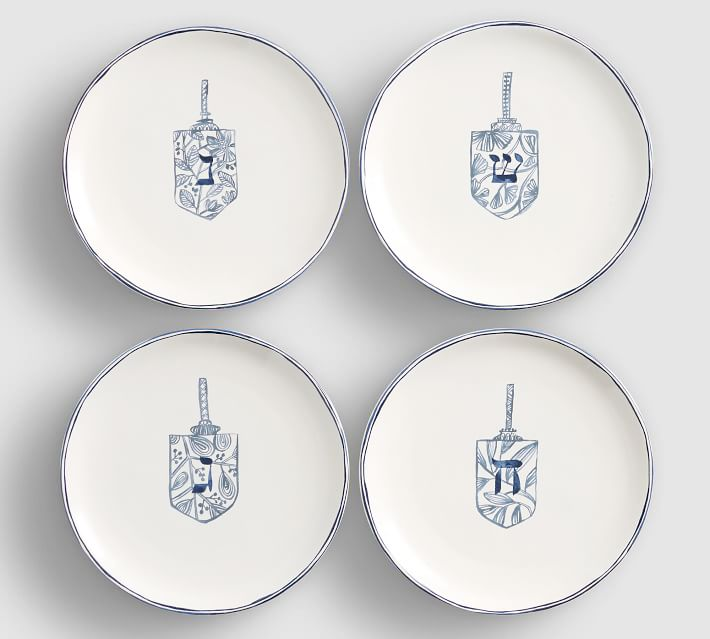 Celebration Icon Salad Plates