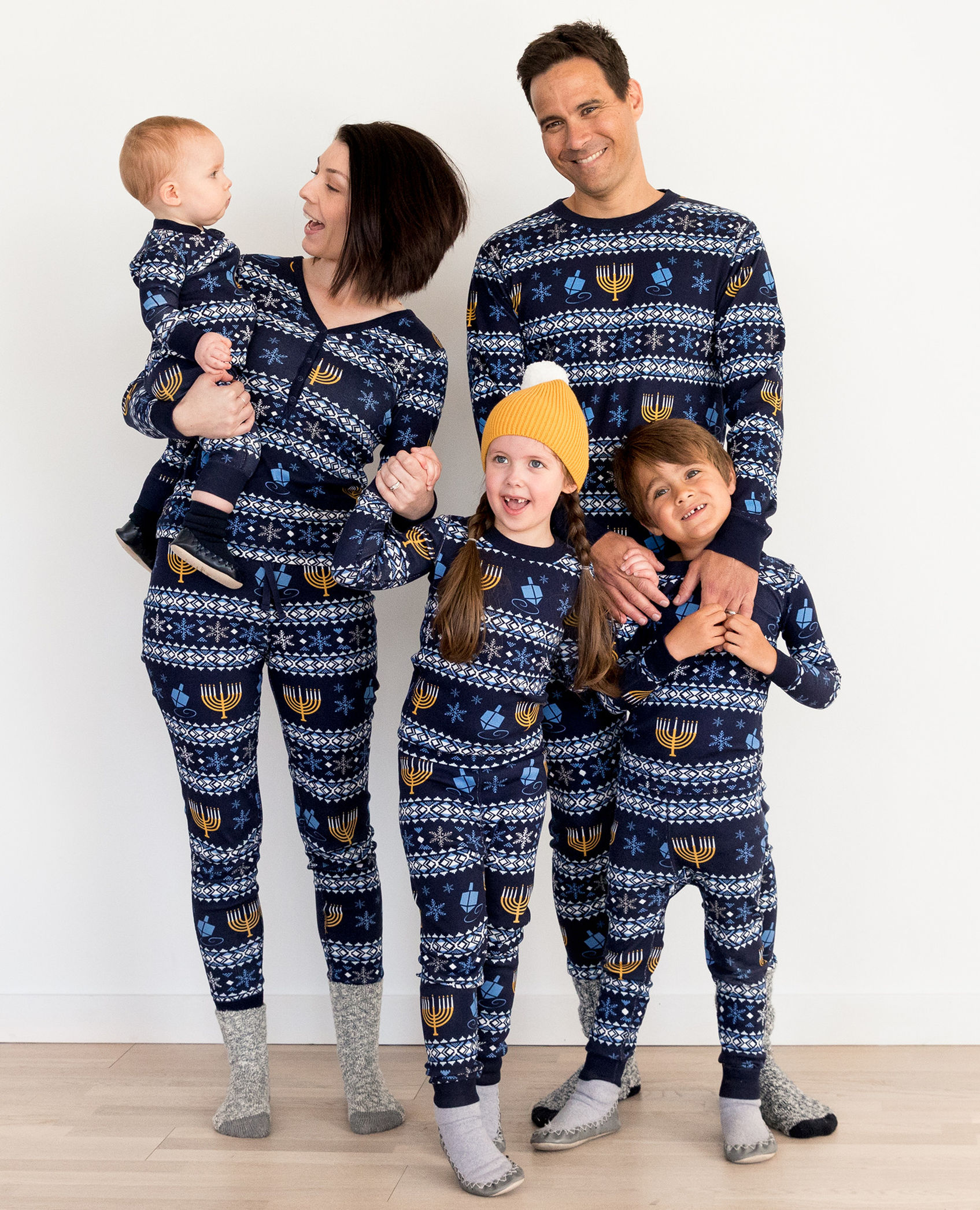 Hanukkah Pajamas for the Whole Family