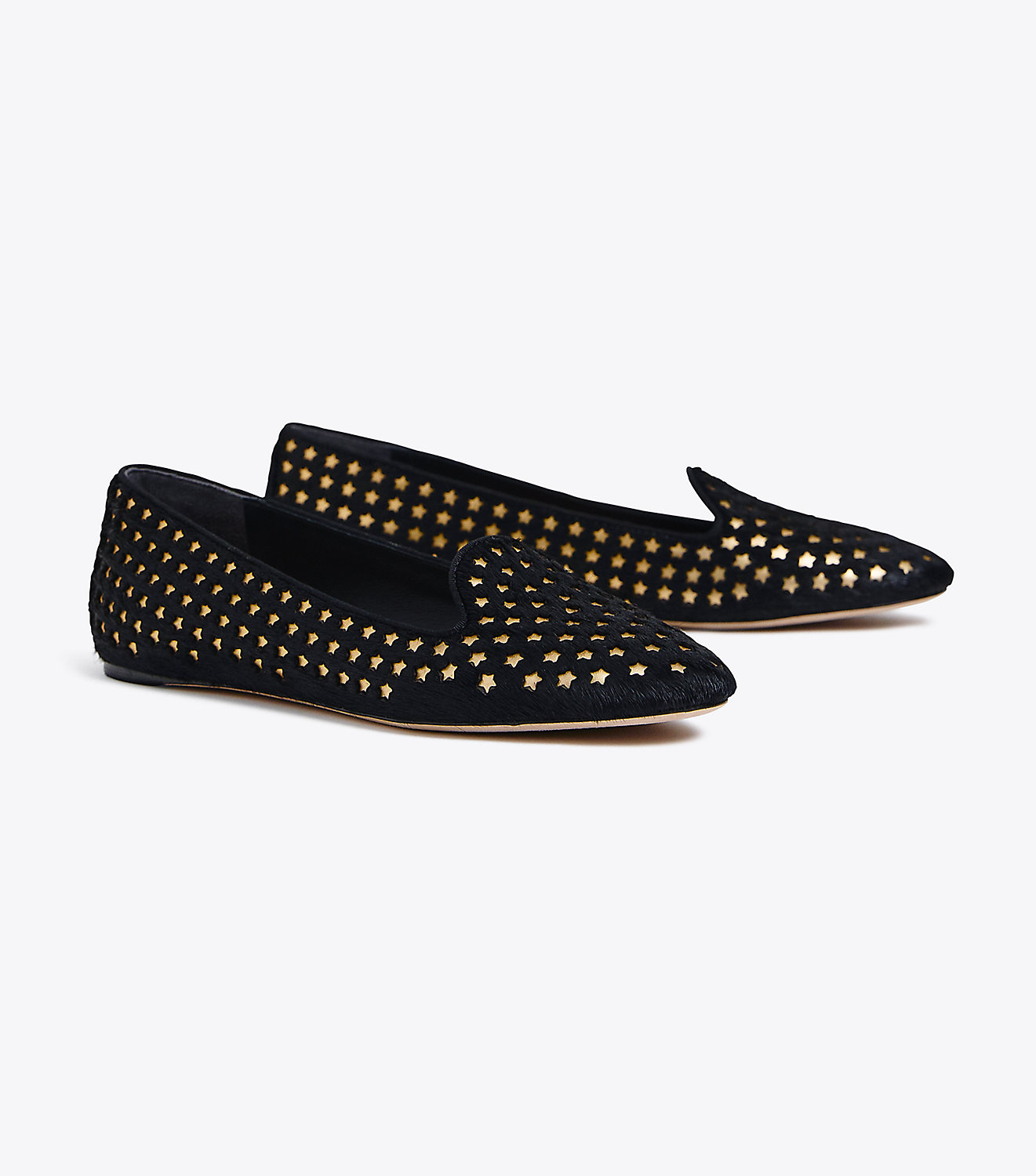 Metallic Star Loafer