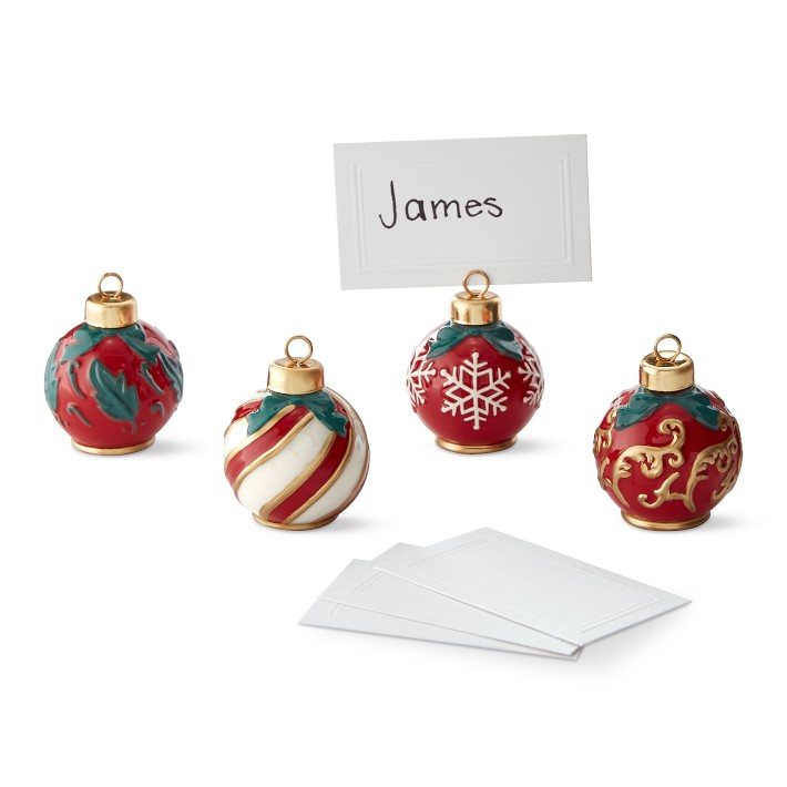 ornament-place-card-holder-with-paper-set-williams-sonoma ...
