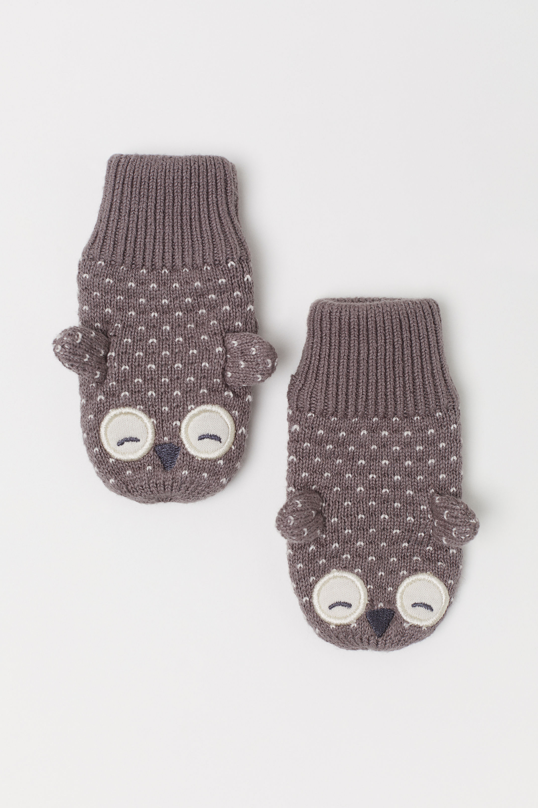 Baby Owl Mittens