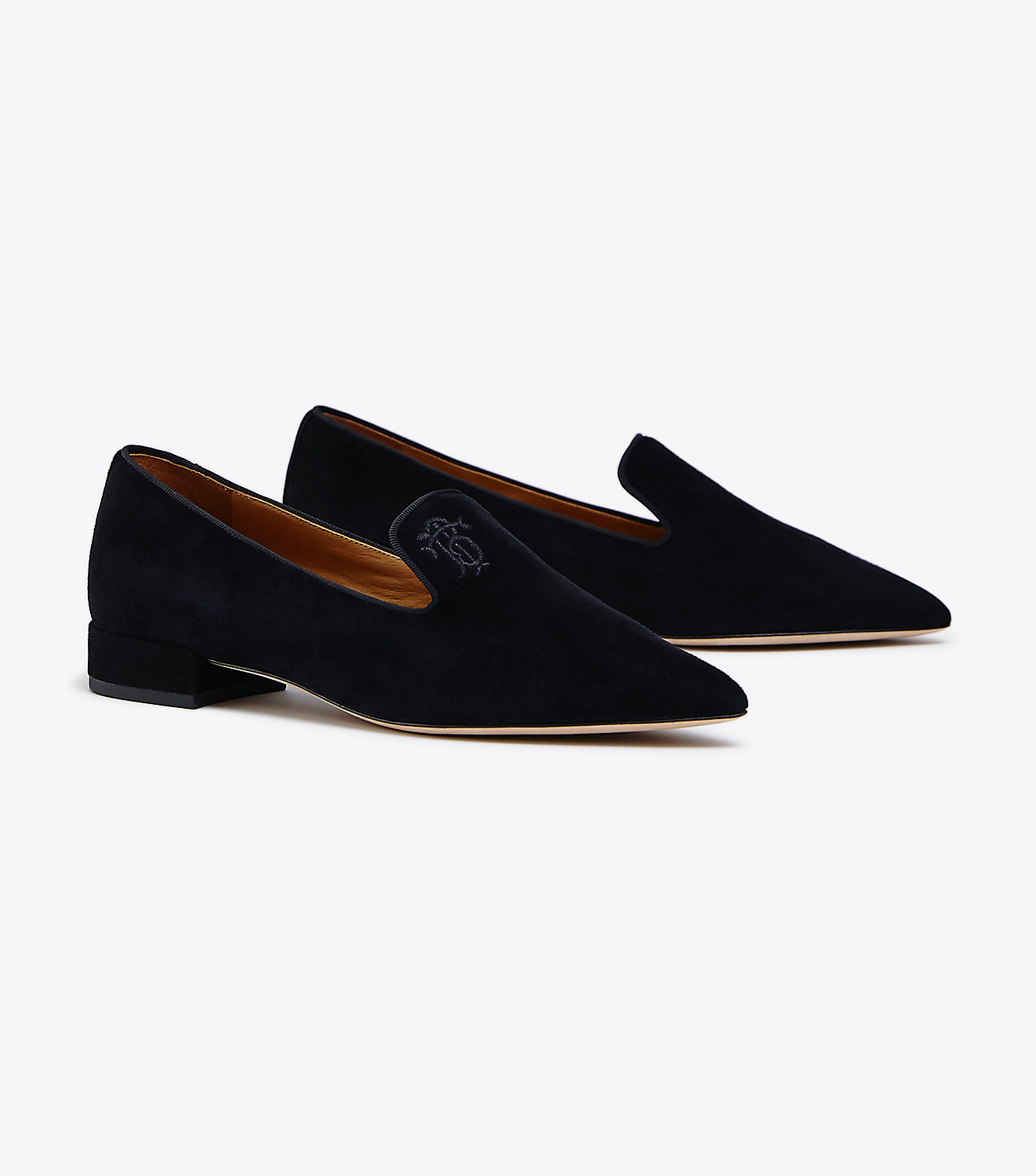 Suede Smoking Slipper