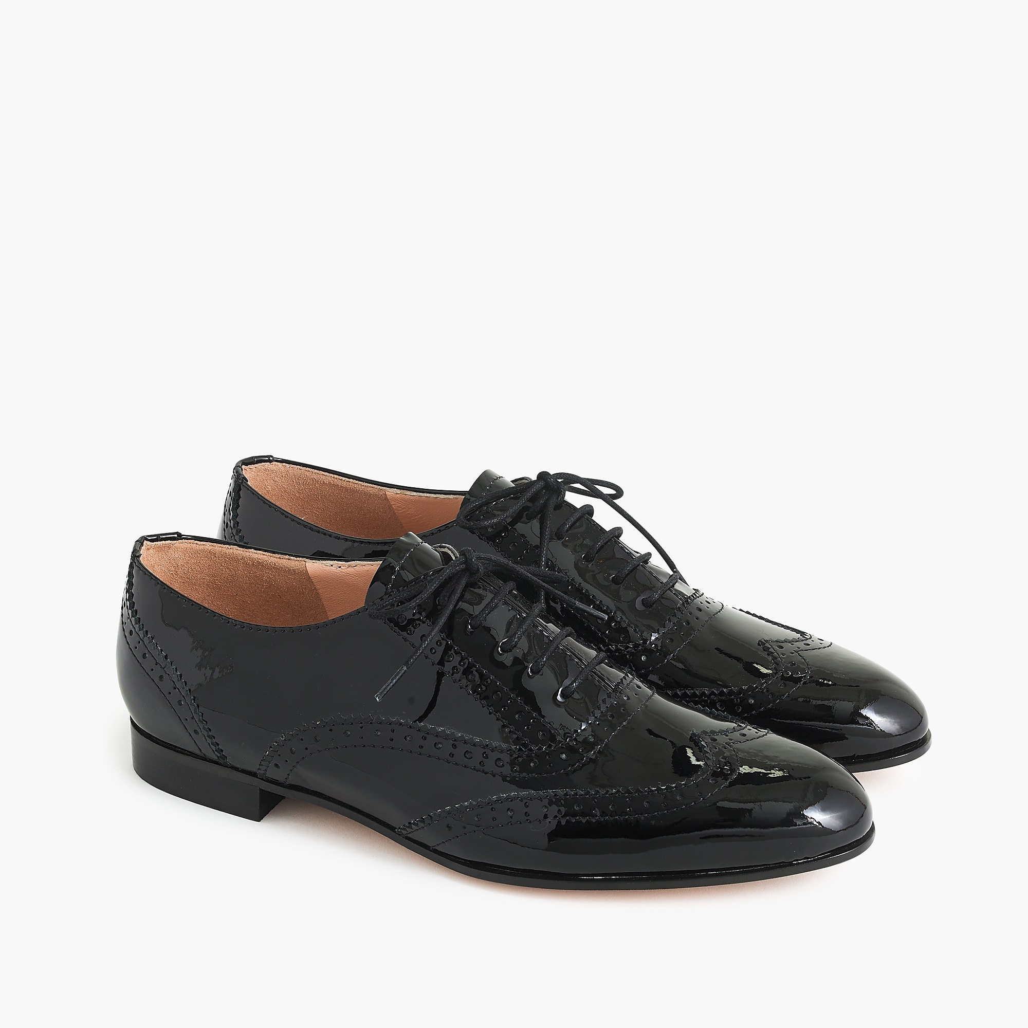 Patent Leather Oxford Shoe