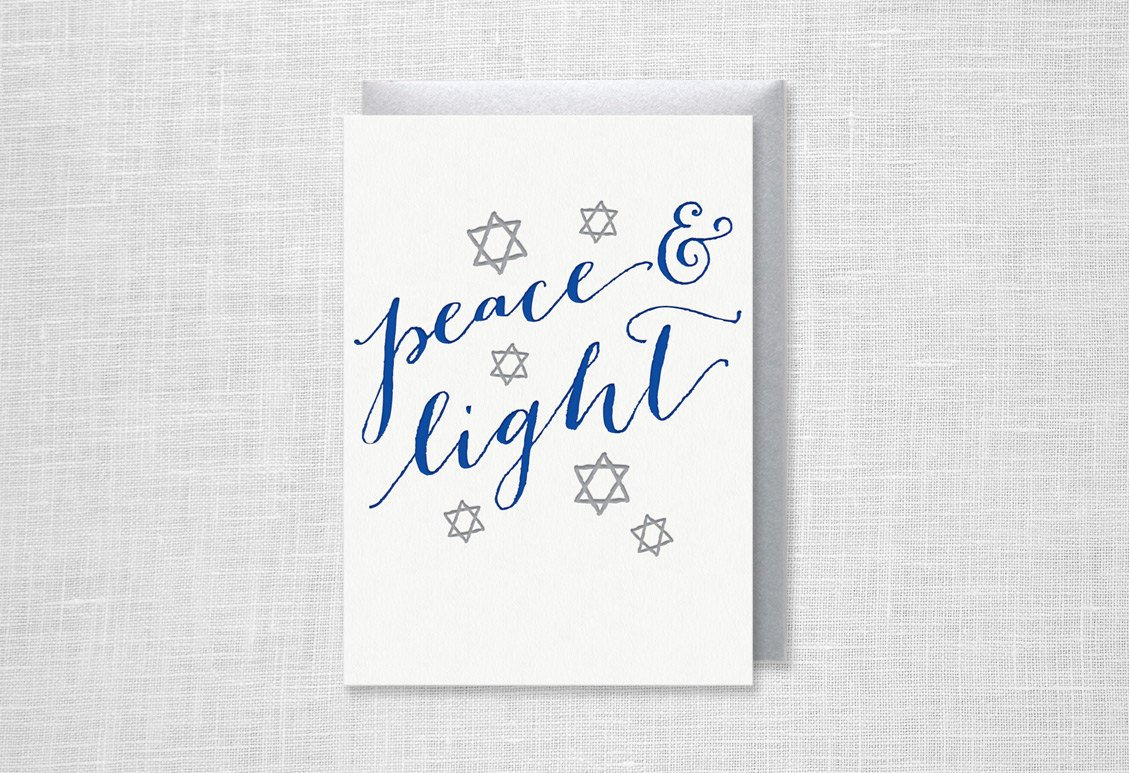 Peace and Light Cards