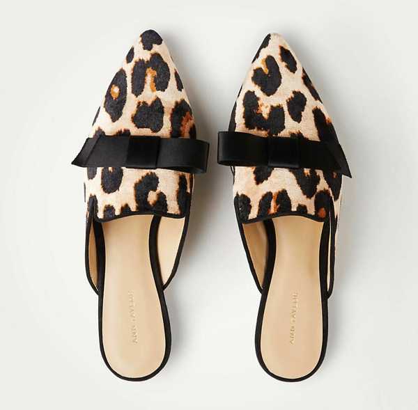 The Daily Hunt: Leopard Bow Mules and more!