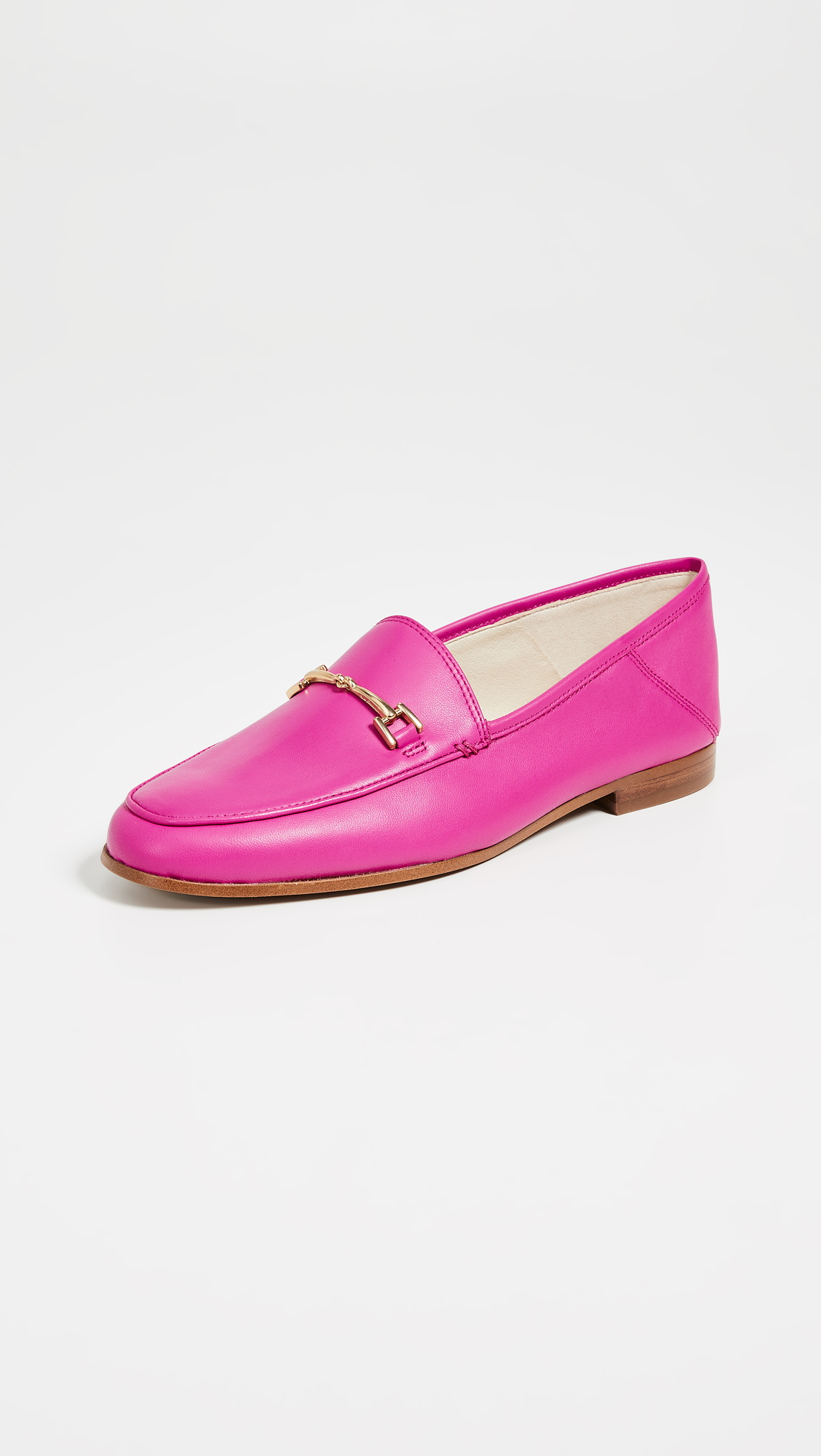 Retro Pink Loafers