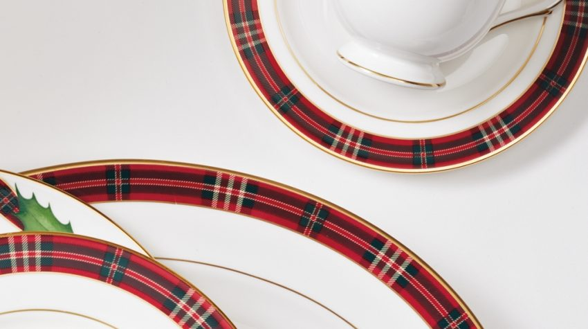 Tartan China Set