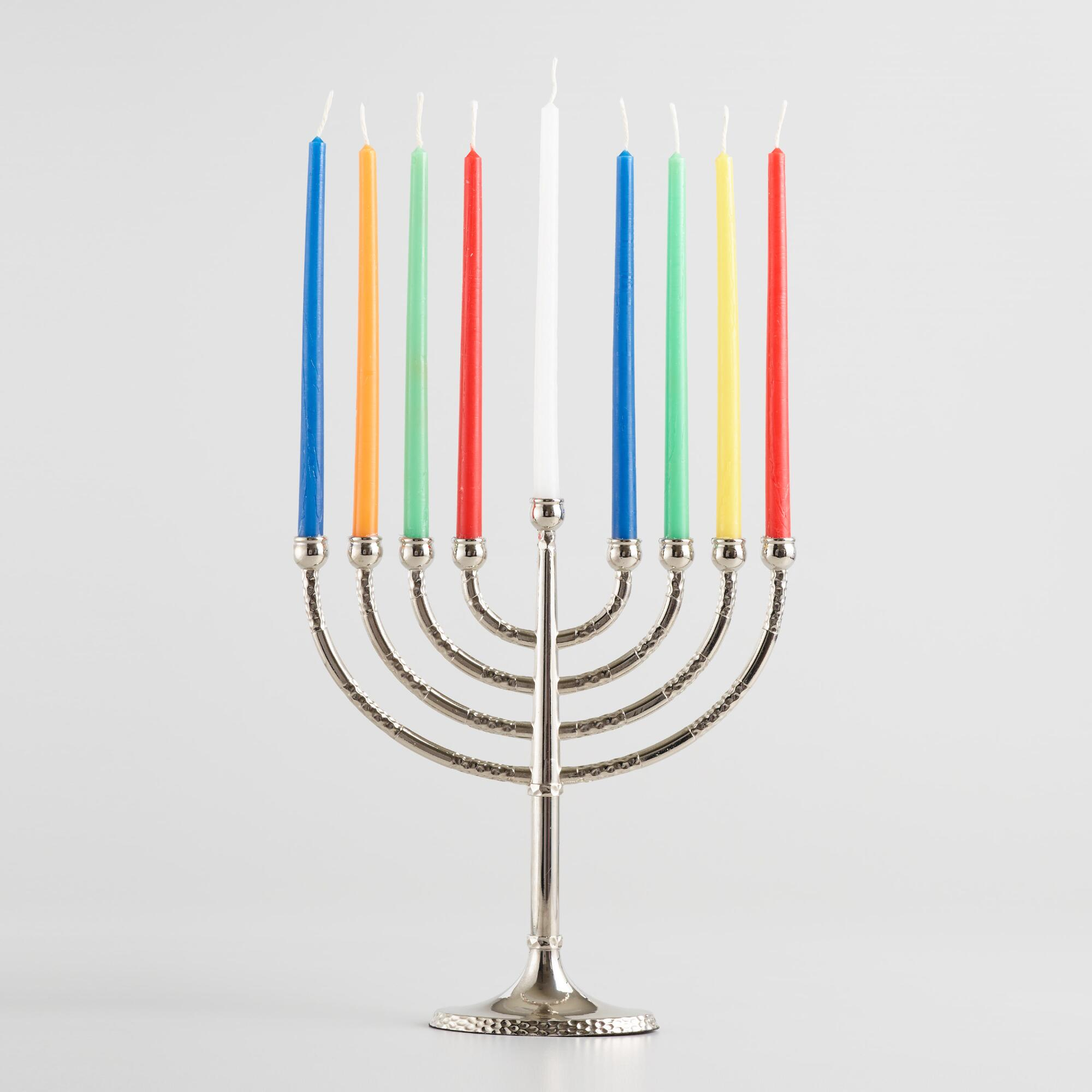 Silver Traditional Menorah