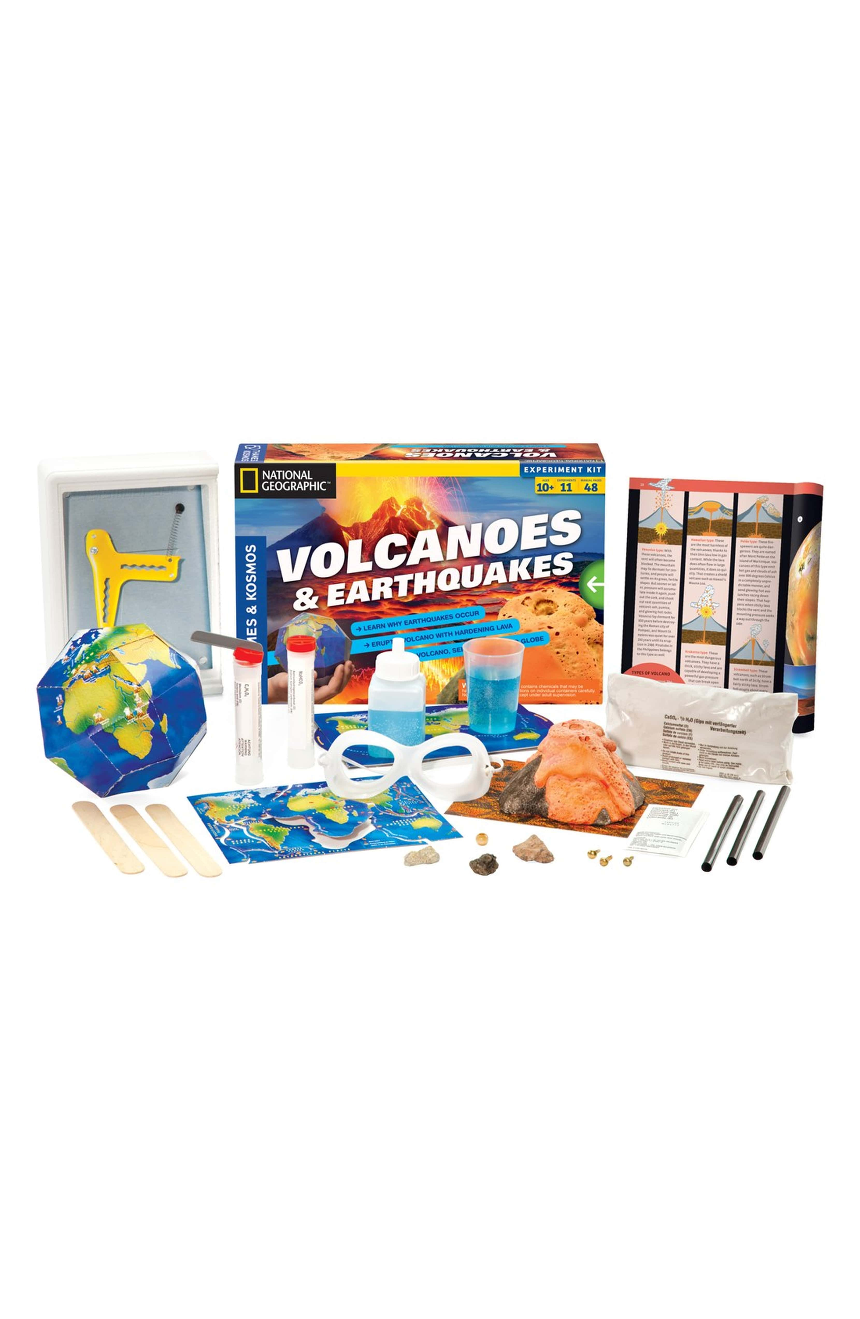Volcanoes Earth Quakes Experiment Kit