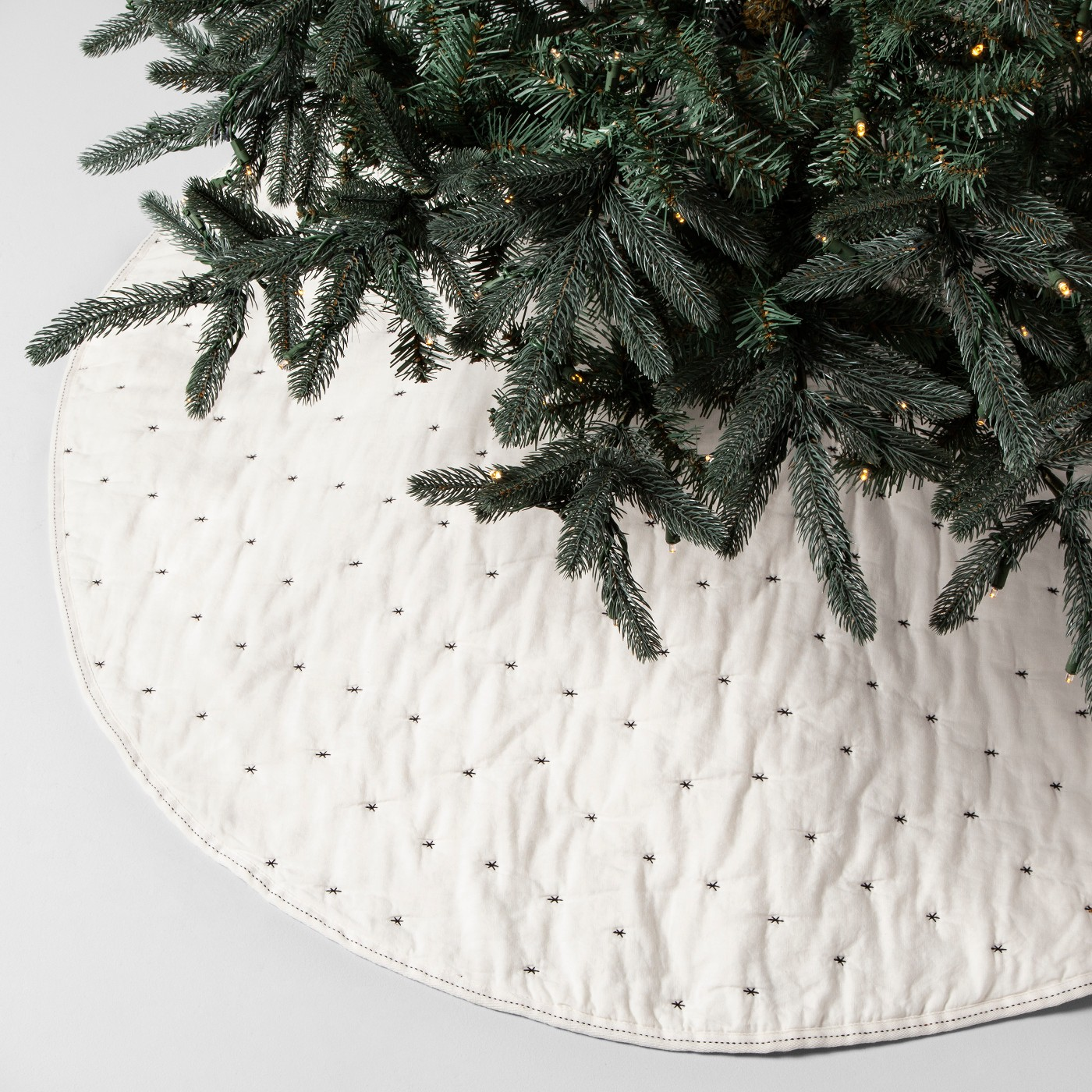 white-embroidered-christmas-tree-skirt-magnolia-home-target - Katie ...