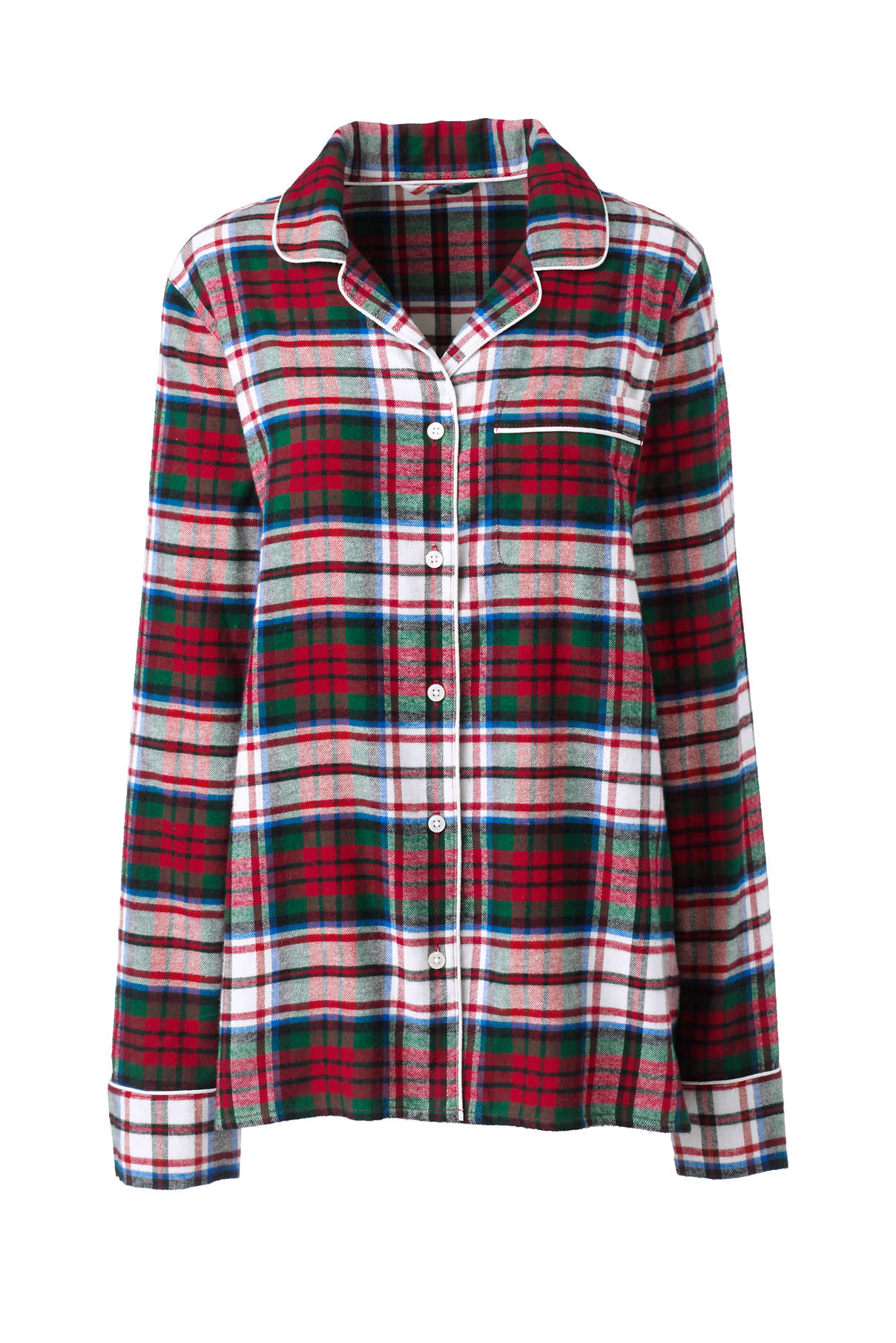 Pajama Flannel Top