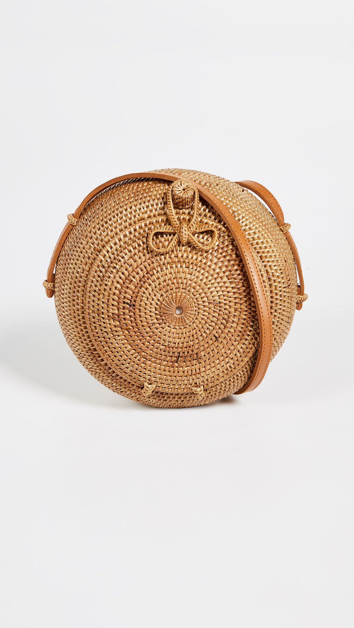Wicker Canteen Purse