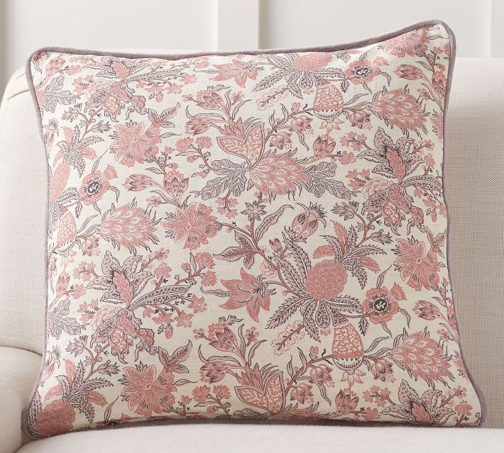 Lianne Reversible Print Pillow Cover