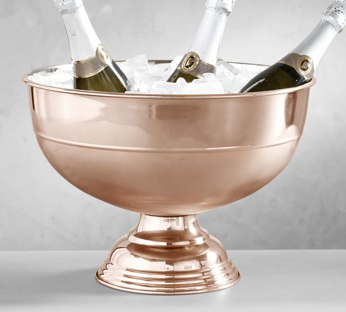 Rose Gold Champagne Bowl