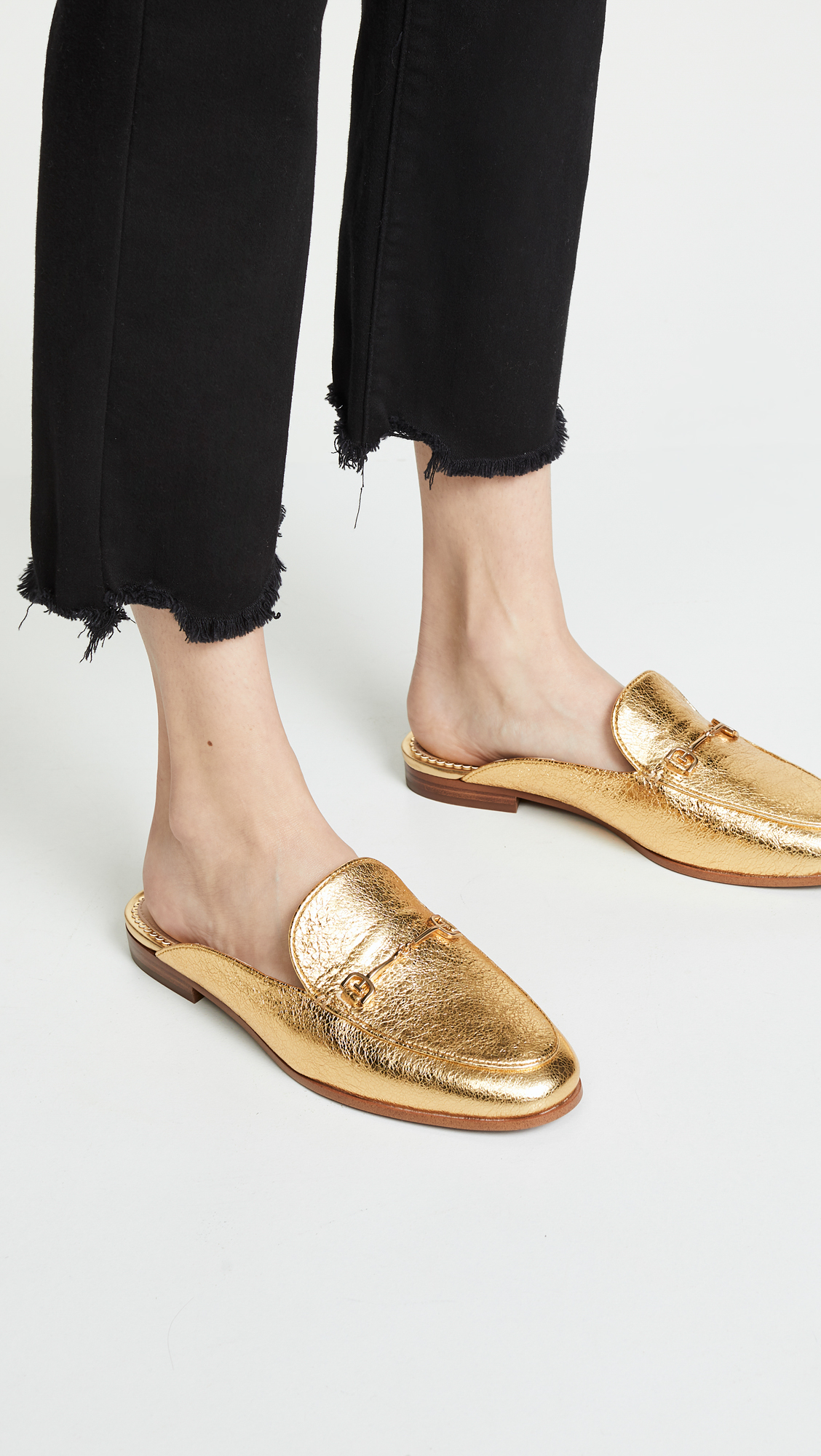 Bright Gold Mules