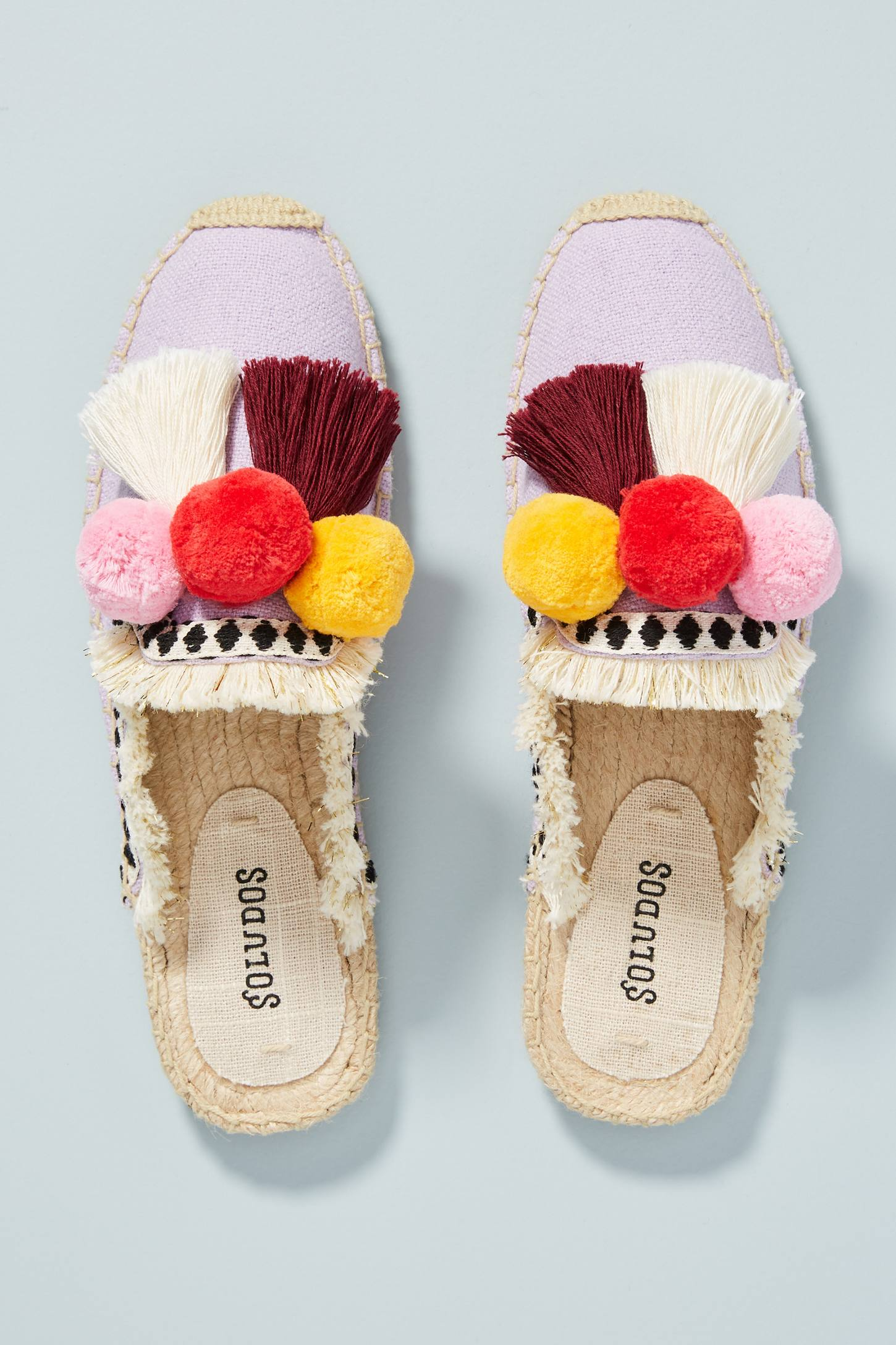 Traditional Slides with Pom-Poms