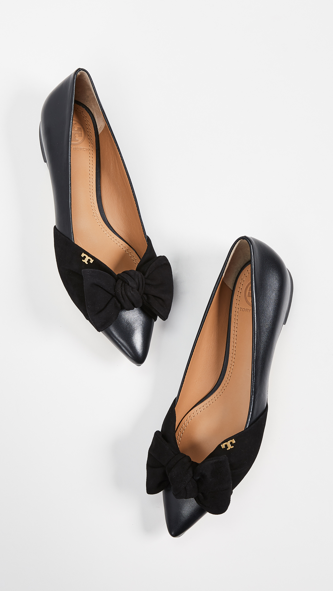 Tory Burch Pointed Toe Flats