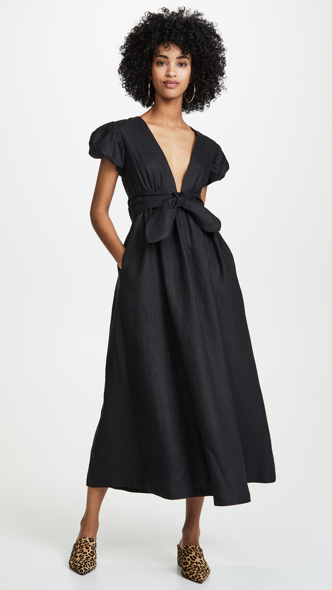 9beab5e8c3c2 Midi Length Black Dress, $450 (I'm pear shaped so this is basically my  dream dress!)