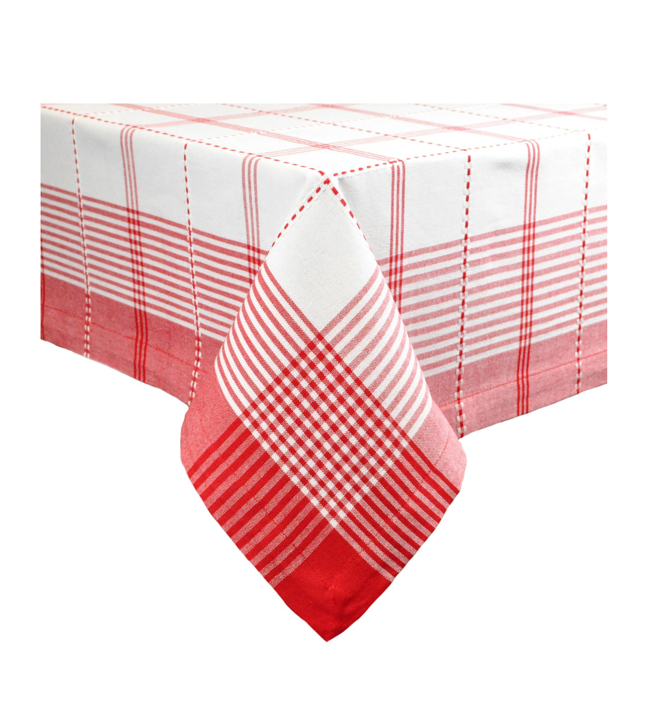 Bold Red Picnic Check Table Cloth