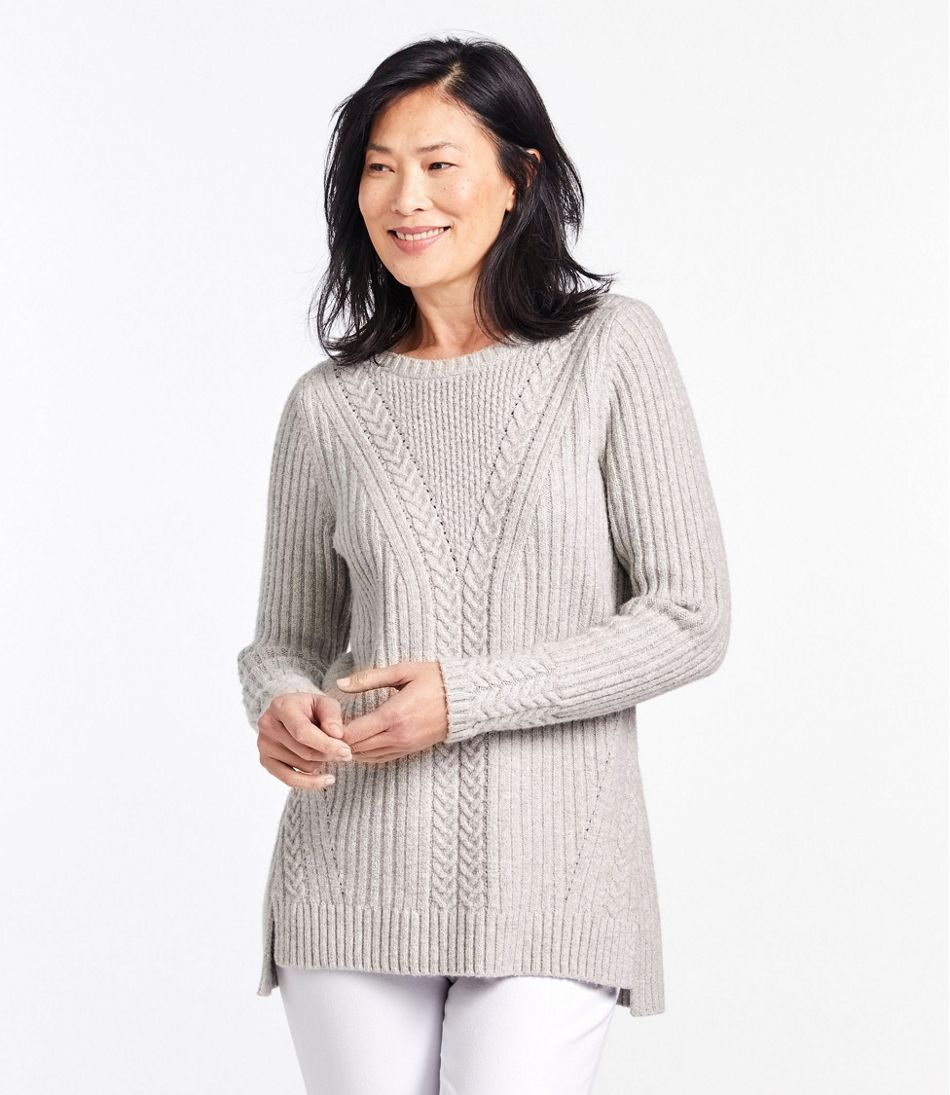 Cozy Mixed Stitch Sweater