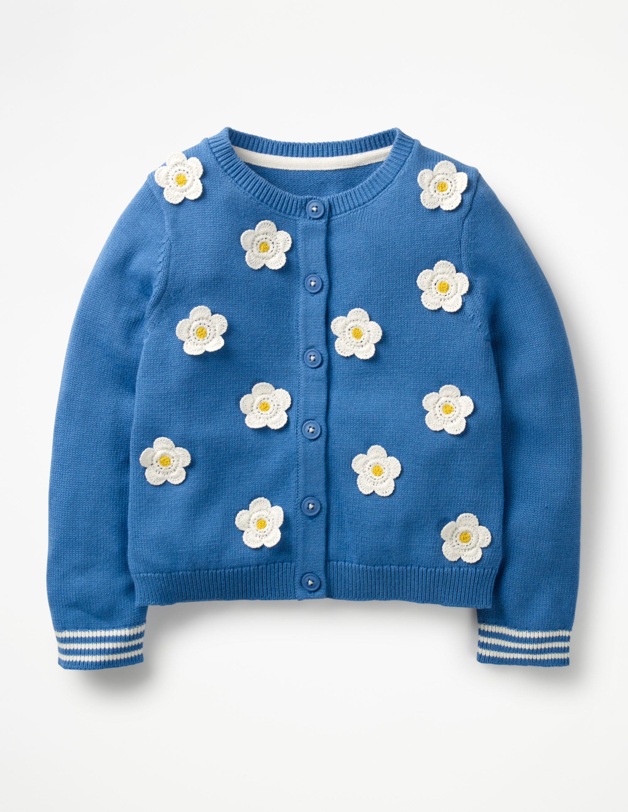 Daisy Floral Cardigan Girls Kids