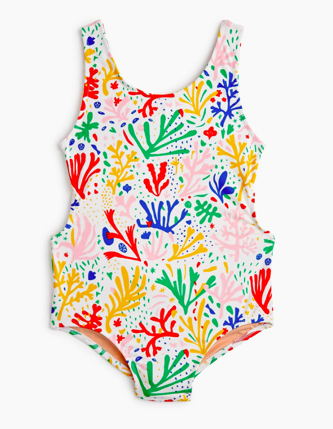 Girls' One-Piece Bathing Suit