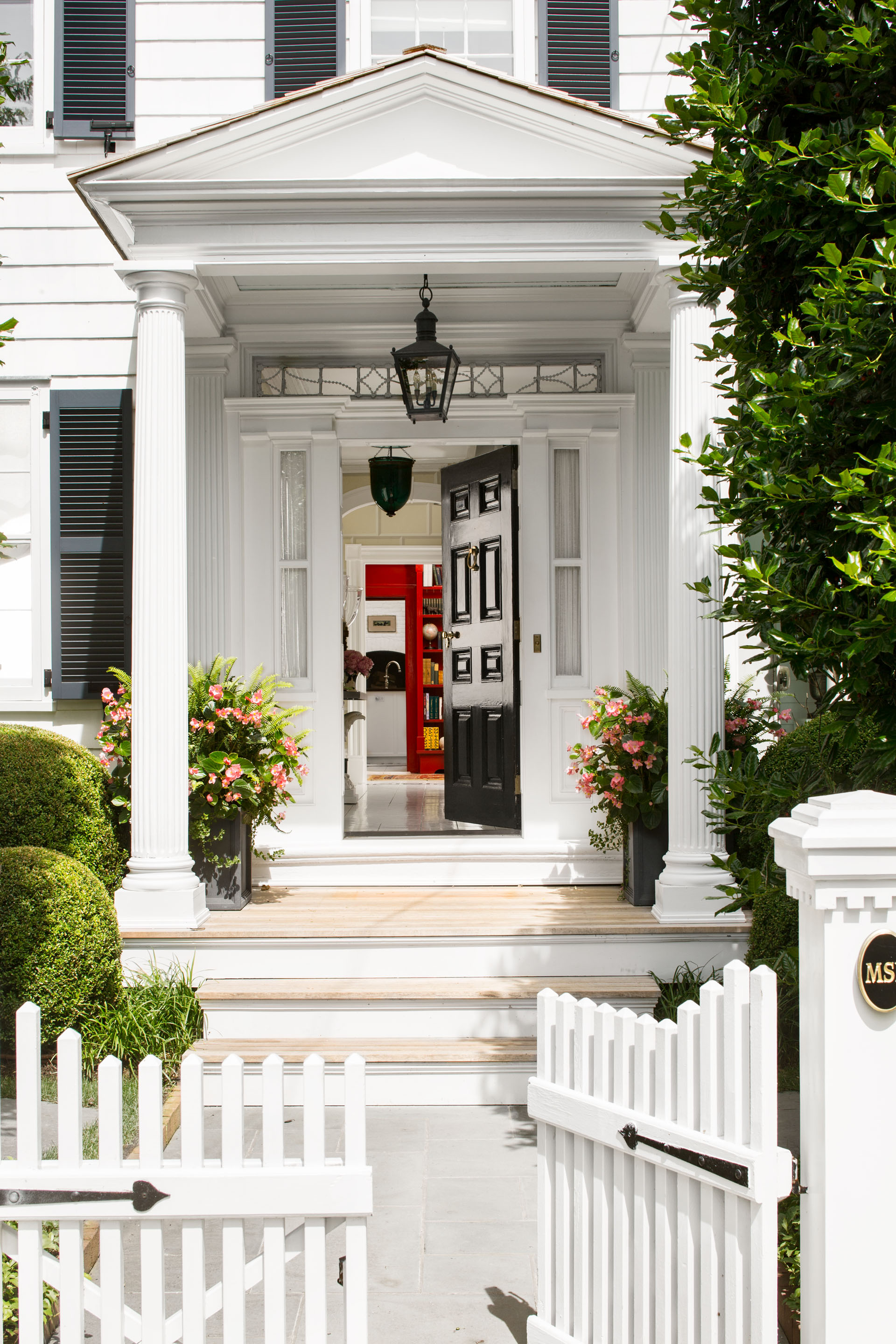 Georgian Revival Sag Harbor home decorated by Nick Olsen